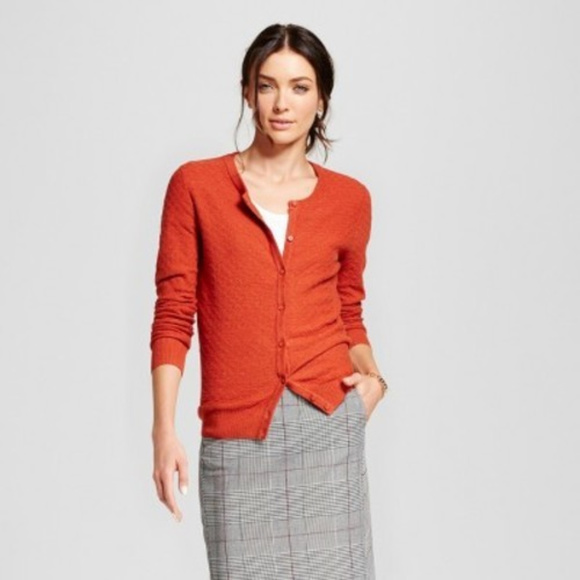 A New Day Women/'s Ruffle Any Day Cardigan Sweater